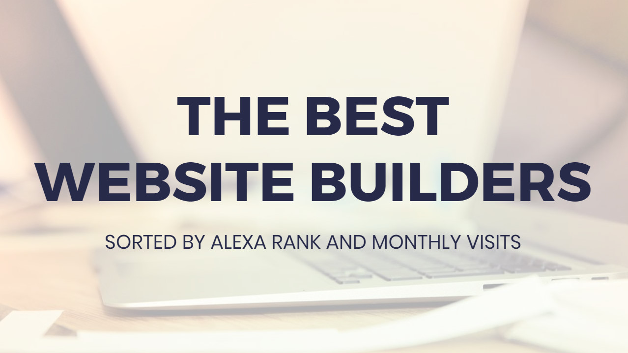 Most suitable  Web Site Builders