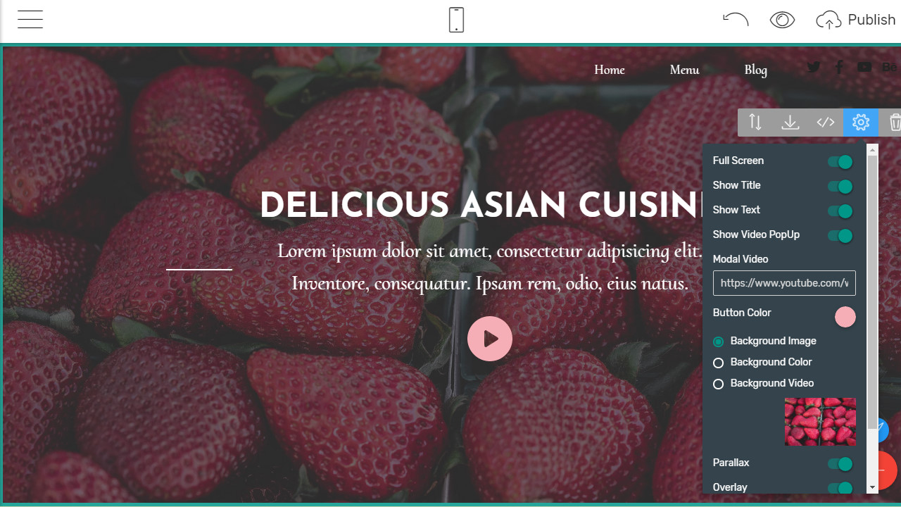 bootstrap menu dropdown