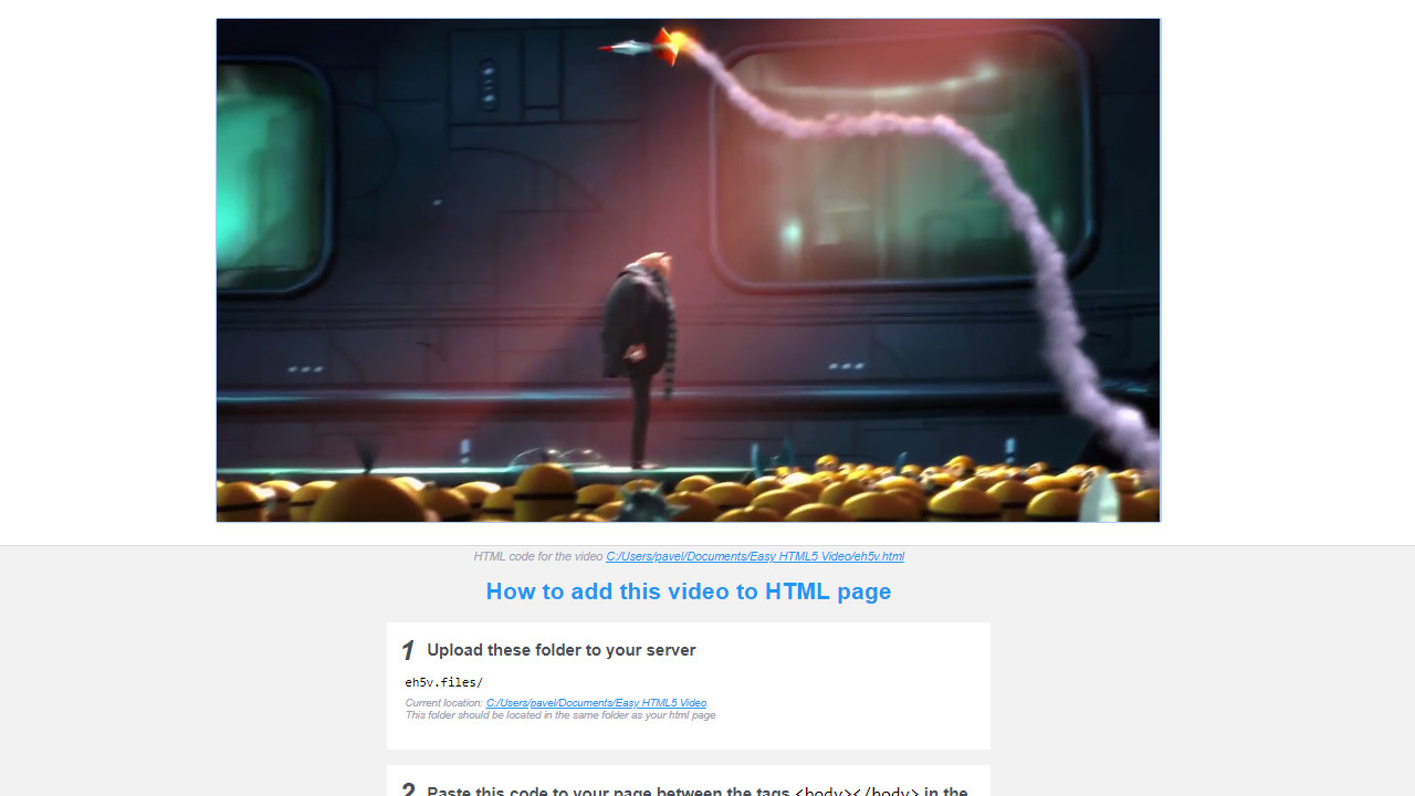 html5 video fullscreen
